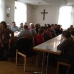 Zuhörer in Oberquembach
