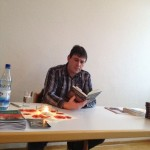 Jörg Olbrich bei der Lesung